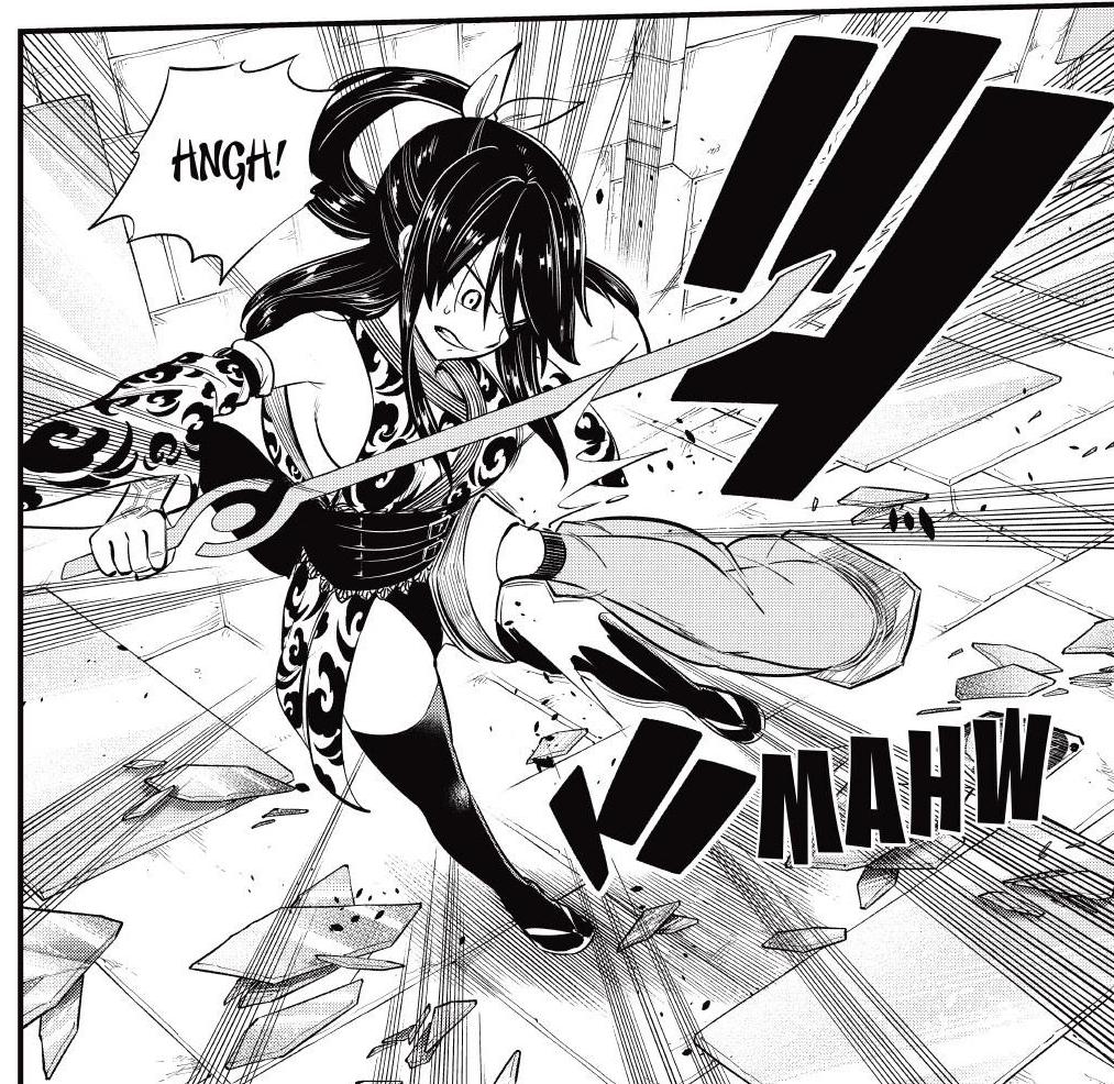Edens Zero Chapter 145-Homura Falls Prey to Milani's Attack