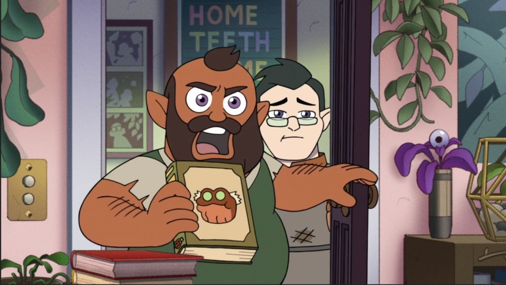 The Owl House S2 Episode 2-Amphibia Reference