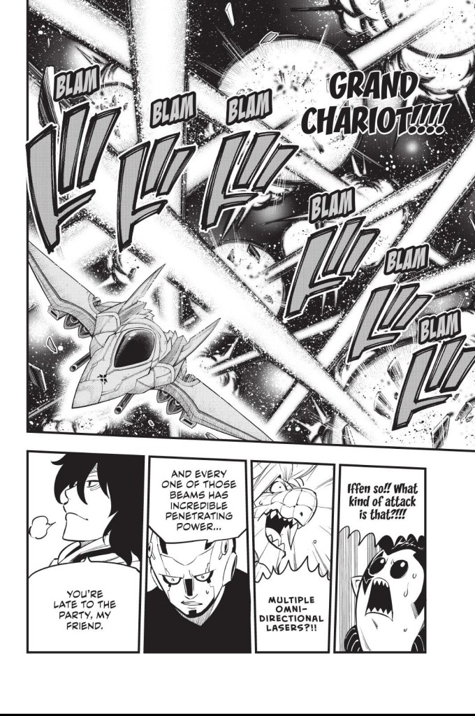 Edens Zero Chapter 148-Justice Comes Charging In