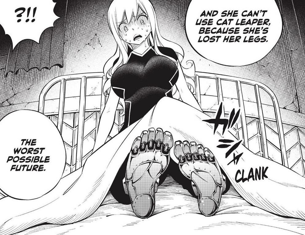 Edens Zero Chapter 149-Future Rebecca Has No Legs