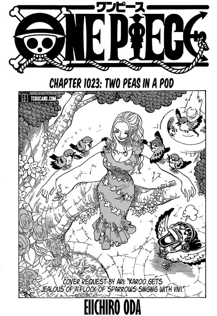 One Piece Chapter 1023 Cover Page