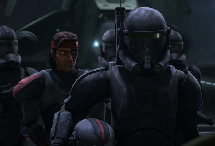 The Bad Batch Episode 15-Hunter and Crosshair Return to Kamino