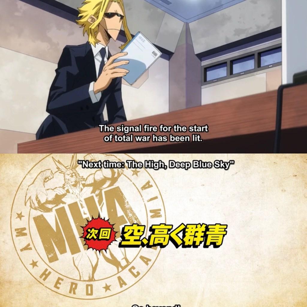 My Hero Academia S5 Episode 25 Preview