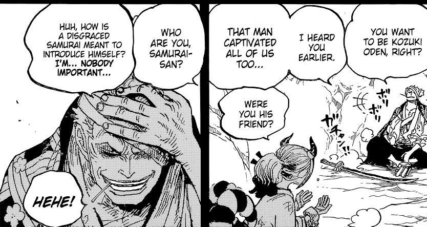 One Piece Chapter 1024-The Guy Who Looks Like Zoro