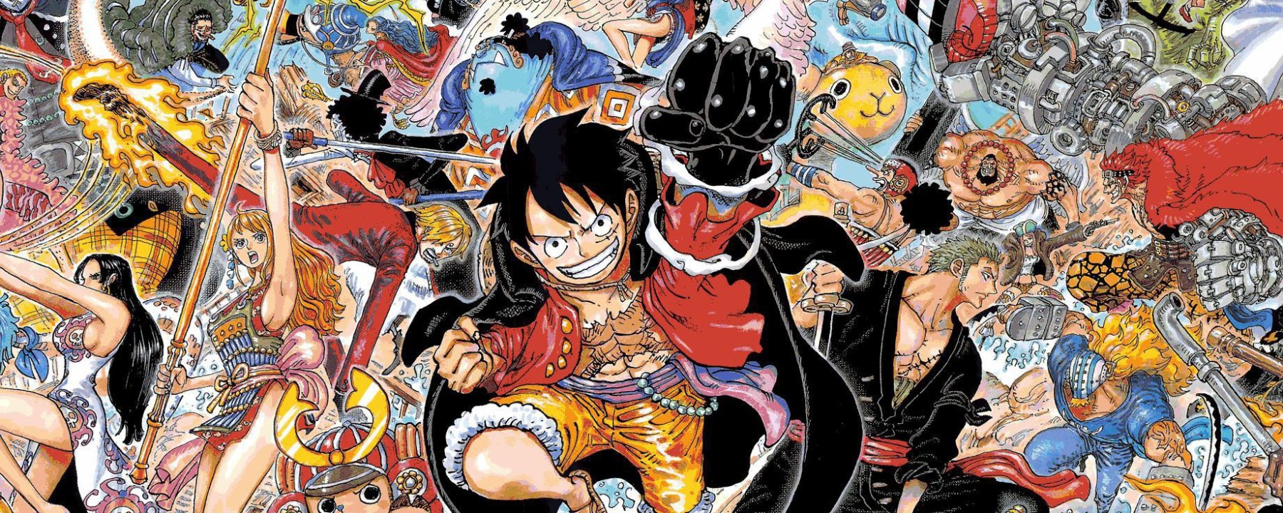 One Piece Chapter 1024 Cover Page
