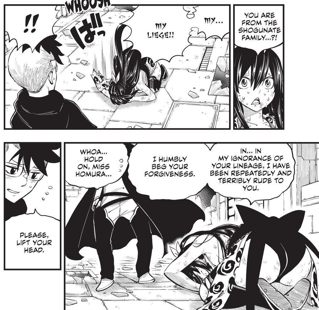 Edens Zero Chapter 160-Homura Bows to Creed