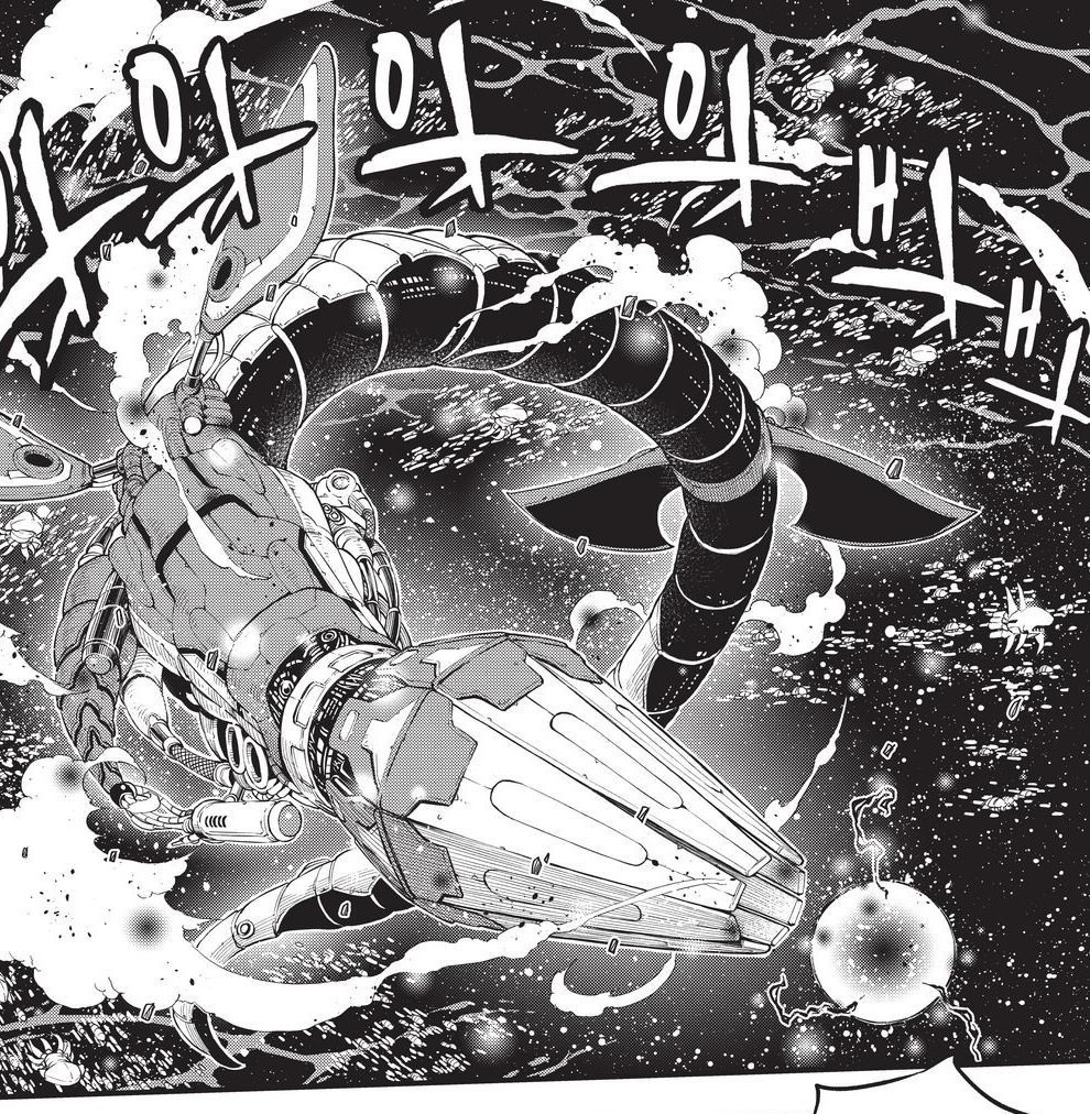 Edens Zero Chapter 160-The Sea Serpent