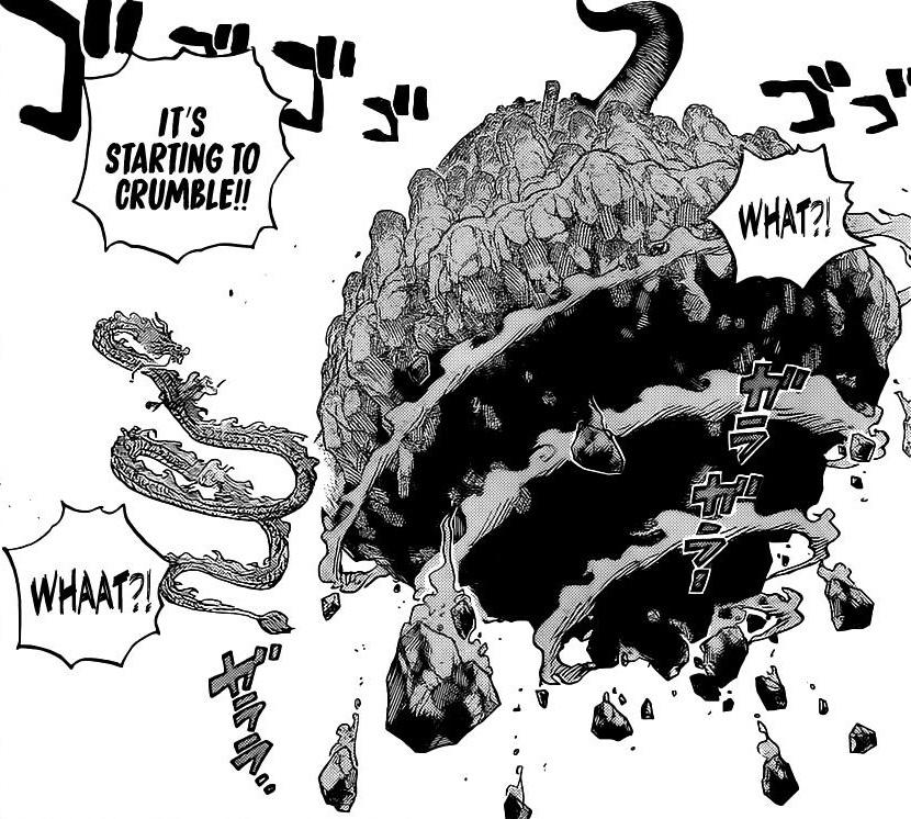 One Piece Chapter 1027-Onigashima Falls