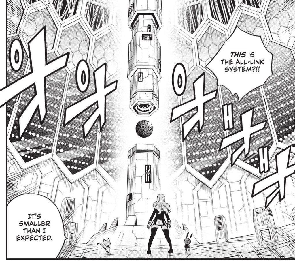 Edens Zero Chapter 163-The All-Link System