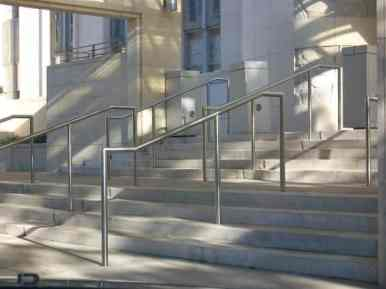 Texas Medical Center - Cullen Building Stairs