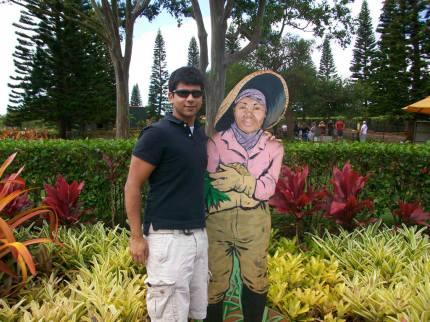 Hawaii Vacation - Rishi Dole Plantation