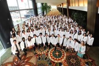 Class of 2013's White Coat Ceremony