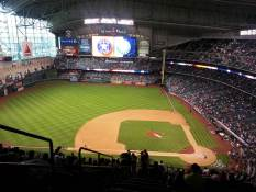 Minute Maid Park before the game