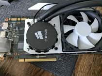 NZXT Kraken G10 GPU bracket mounted on 980 Ti