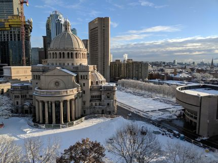 View from my apartment rooftop - The First Church of Christ, Scientist