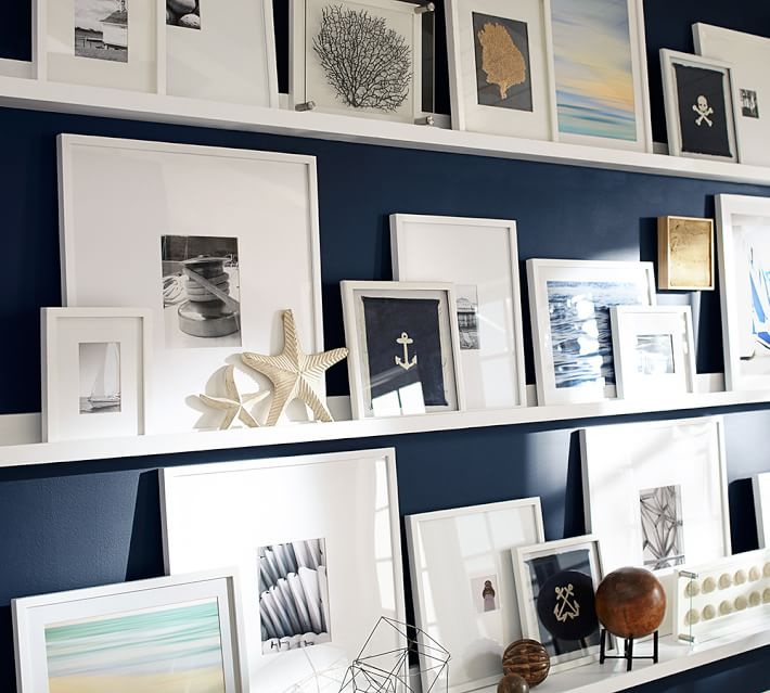 Wood Gallery Single Opening Frames - White