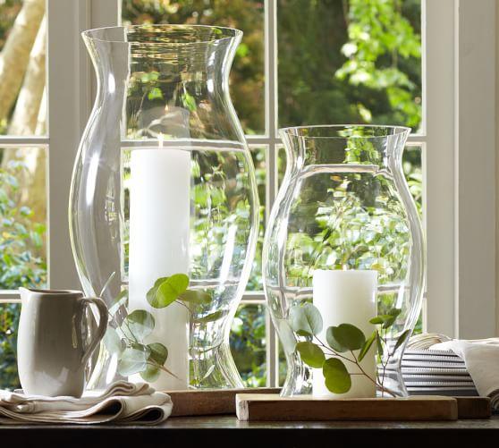 Hourglass Hurricane Sleeve Pottery Barn