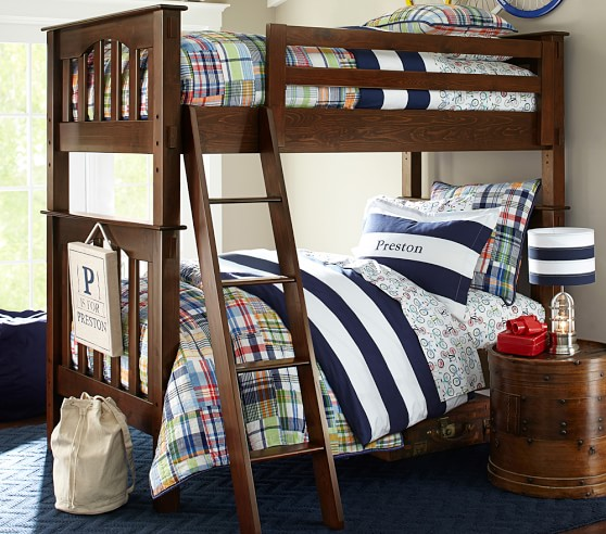 Twin Over Barn Pottery Beds Bunk Full