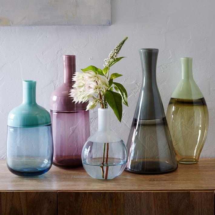 Vitreluxe Glass Vases