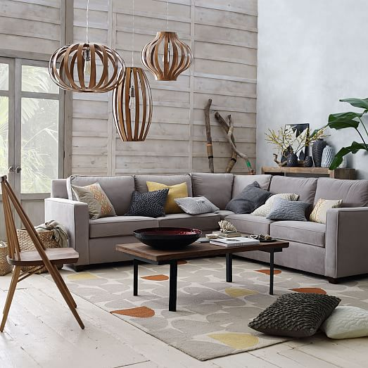Henry Sectional Sofa West Elm Centerfieldbarcom - Henry sectional sofa