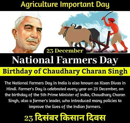 Farmers Day HD images Download Happy Kisan Diwas images