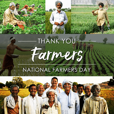 Photo Pics Images For Kisan Diwas wishes 2020
