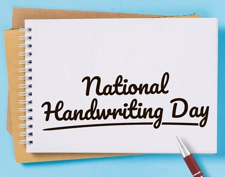 Best National Handwriting Day images For Twitter Instagram