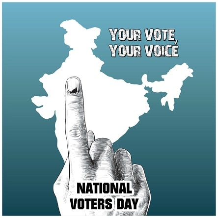 National Voters Day Drawing Painting Picture Photo