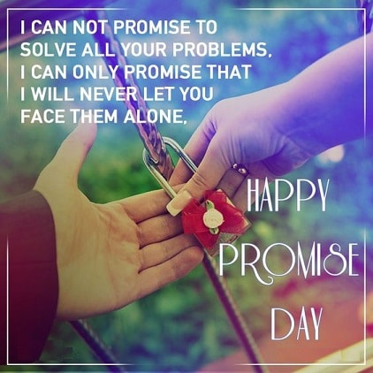 Best Beautiful Promise Day Status For Friends