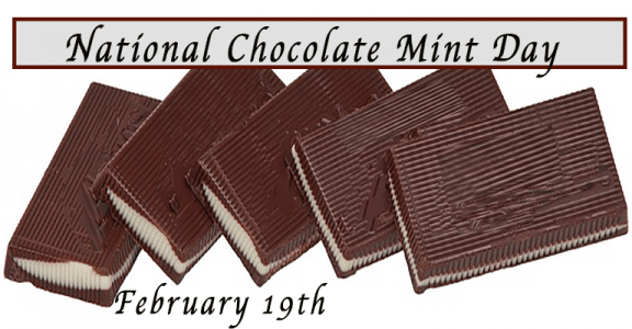 February 19 National Chocolate Mint Day images Pics Photo Pictures