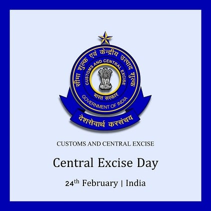 Happy Central Excise Day images Photo Pictures
