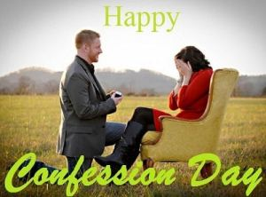 Happy Confession Day Wallpaper images Pics Photo For Lover GF BF