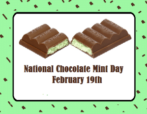 National Chocolate Mint Day Meme Funny images Photo Pictures