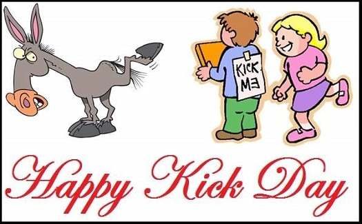 Photo Pics images For Happy Kick Day For Friends