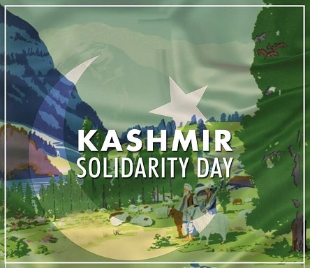 Photo Pics images of Kashmir Solidarity Day 2021