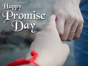 Promise Day Card HD images Wallpaper Photo