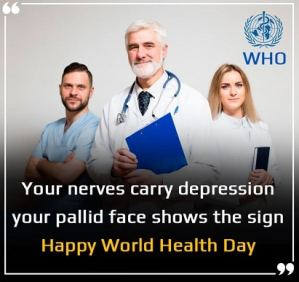 World Health Day Status For FB Whatsapp