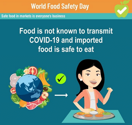 7 June World Food Safety Day Photo images Whatsapp DP Profile Pics Cover Photo