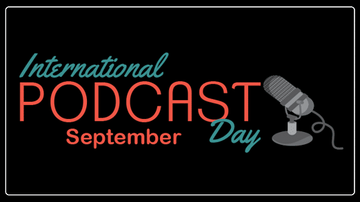 International Podcast Day images Poster Quotes Photo Status