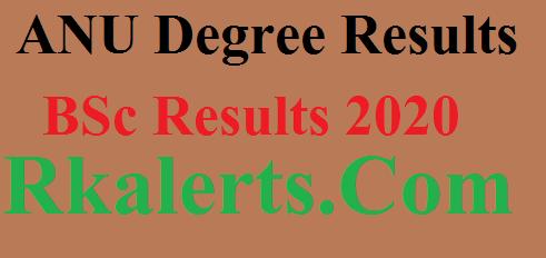 ANU Degree Results 2020
