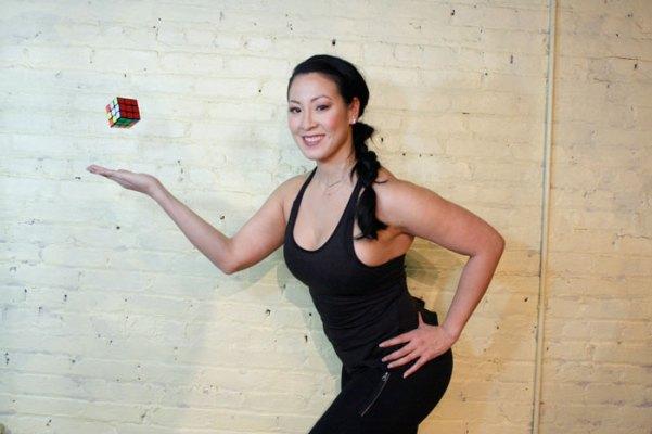 Annie Vo Get-Up Rubiks Cube
