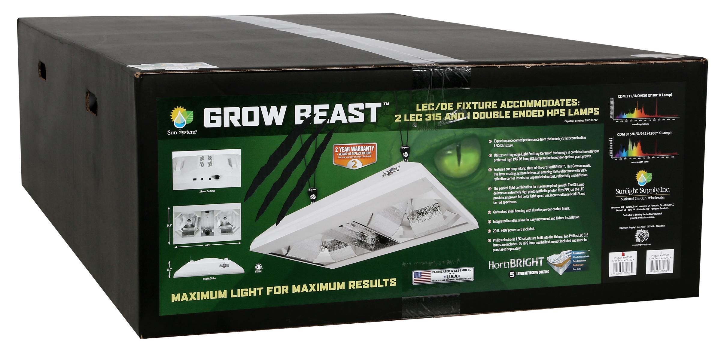 Save $300 on the Grow Beast