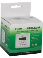 Titan Controls® Apollo® 9 – Two Outlet Digital Timer