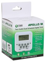 Apollo 18 2 Outlet Dual Timer