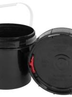 Spin Lock 0.6 Gal Black Bucket