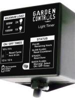 Grozone Garden Controls Light Timer