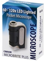 Carson Optical® MicroBrite Plus™ 60-120x LED Microscope