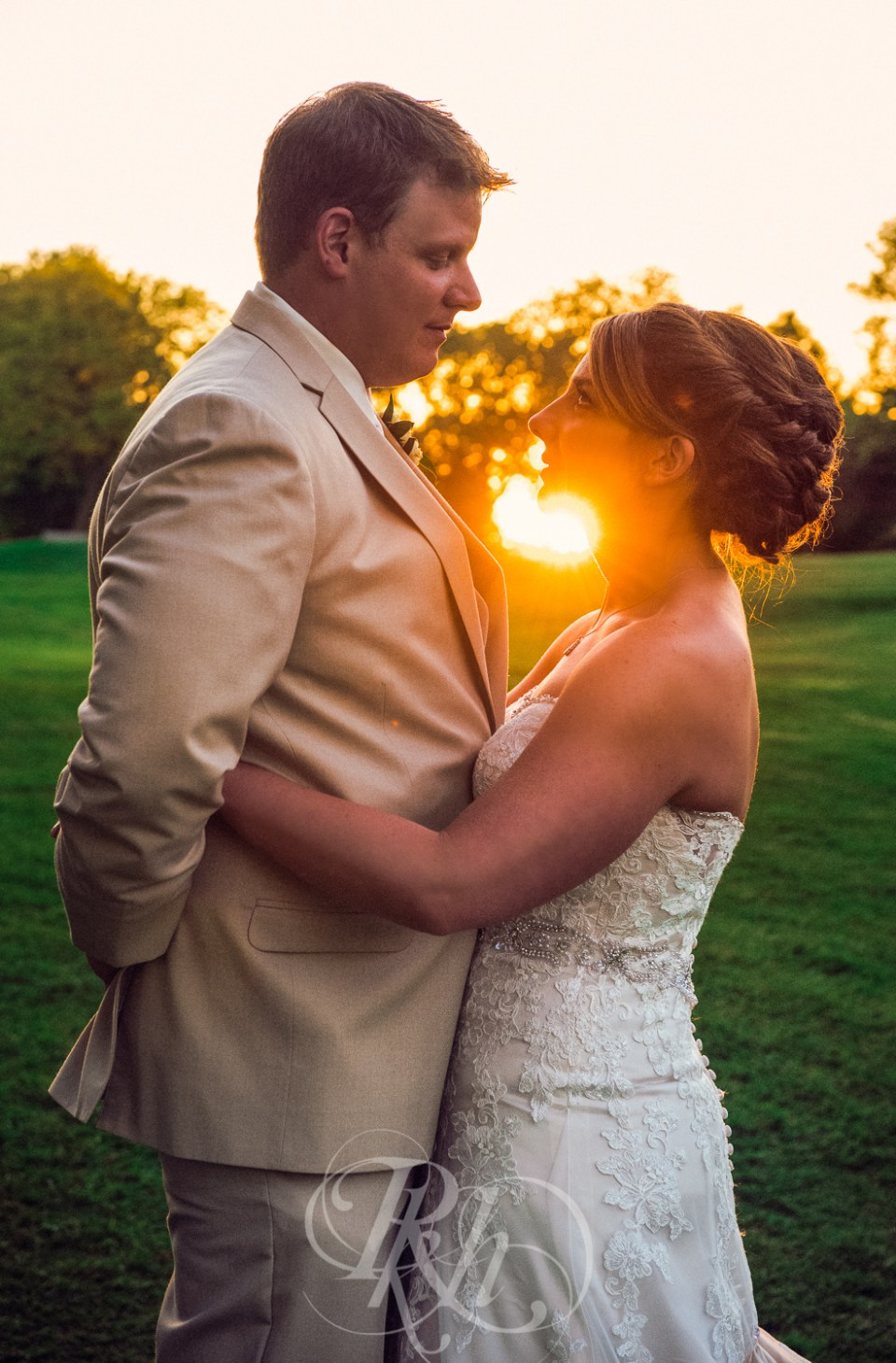 Southview Country Club wedding sunset