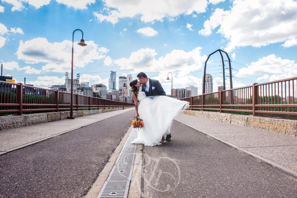Stone Arch Bridge wedding photography
