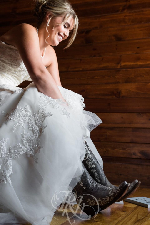 Farm wedding boots